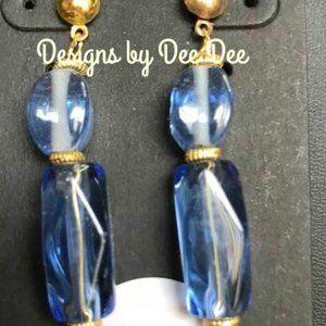 Gold Tone Post Earrings